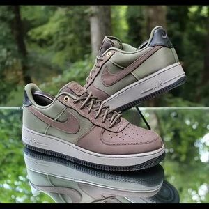 Nike Air Force 1 '07 Premier Brown Army Olive